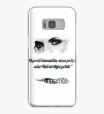Lost Girl - Both eyes brown and blue Samsung Galaxy Case/Skin