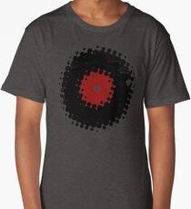 Grunge Vinyl Records Retro Vintage 50's Style Long T-Shirt