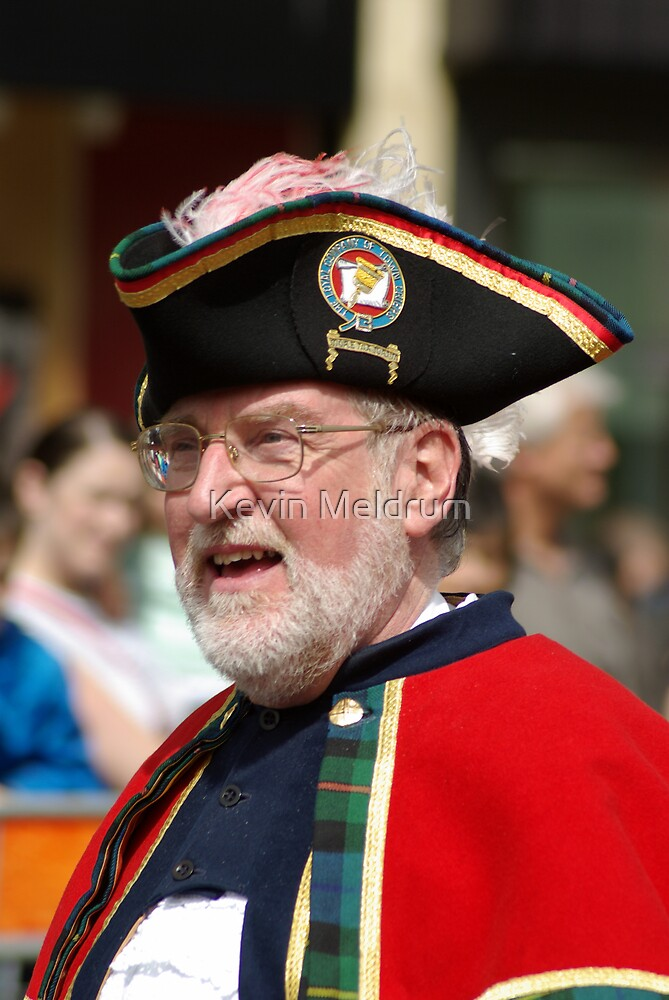 Town Crier by Kevin Meldrum