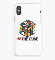 Love The Rubik's Cube iPhone Case/Skin