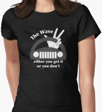 Jeep Wave Women's Fitted T-Shirt