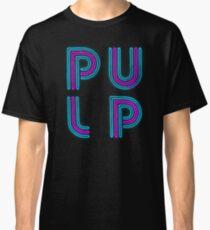 Pulp - Neon Logo Classic T-Shirt