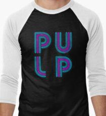 Pulp - Neon Logo Men's Baseball ¾ T-Shirt