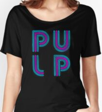 Pulp - Neon Logo Women's Relaxed Fit T-Shirt