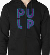 Pulp - Neon Logo Zipped Hoodie