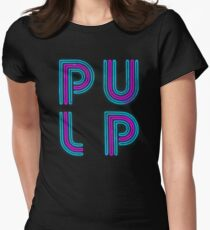 Pulp - Neon Logo Women's Fitted T-Shirt