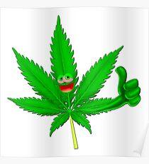 Marihuana cool Poster