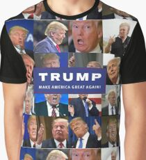 MAKE AMERICA DERP AGAIN! PRESIDENT TRUMP LOOKING LIKE A FOOL! Graphic T-Shirt