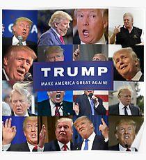 MAKE AMERICA DERP AGAIN! PRESIDENT TRUMP LOOKING LIKE A FOOL! Poster