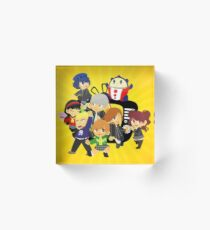 the nicest kids in town Acrylic Block