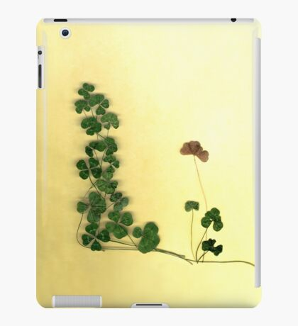 Golden Clover Dreams iPad Case/Skin