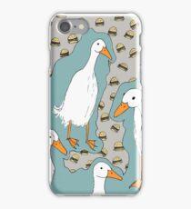 Feed The Ducks iPhone Case/Skin