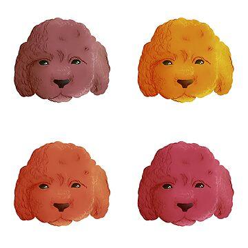 Color Pups! by hannahsalsa