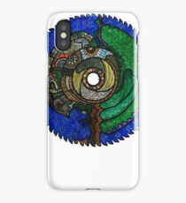 Tree Saw Blade (saw blade #3) iPhone Case