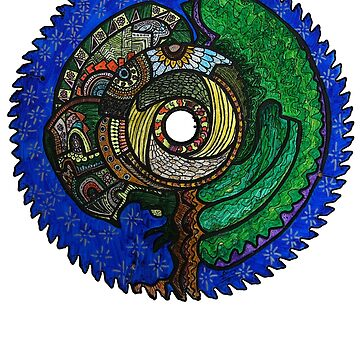Tree Saw Blade (saw blade #3) by MuscularTeeth