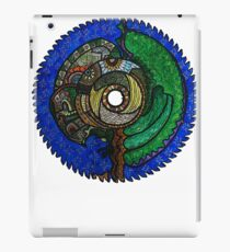 Tree Saw Blade (saw blade #3) iPad Case/Skin