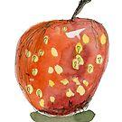 Apfel 2 by Gabriele Maurus