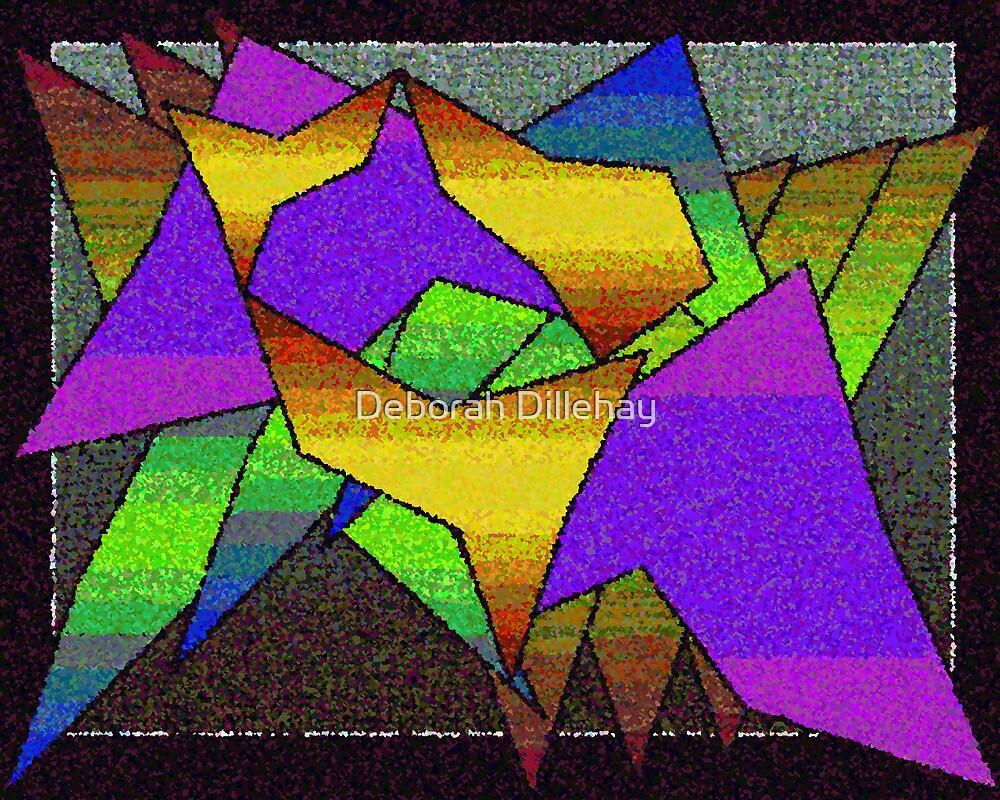 Jagged Shapes by Deborah McCormick