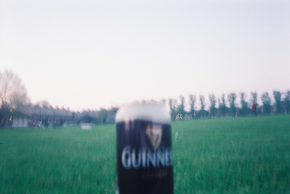 My first Guiness for you.   by Yun Kyung  KAM