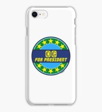 OG FOR PRESIDENT iPhone Case/Skin