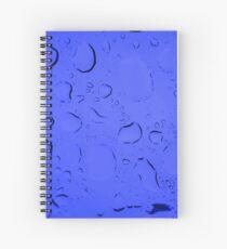 Liquid Blue Spiral Notebook