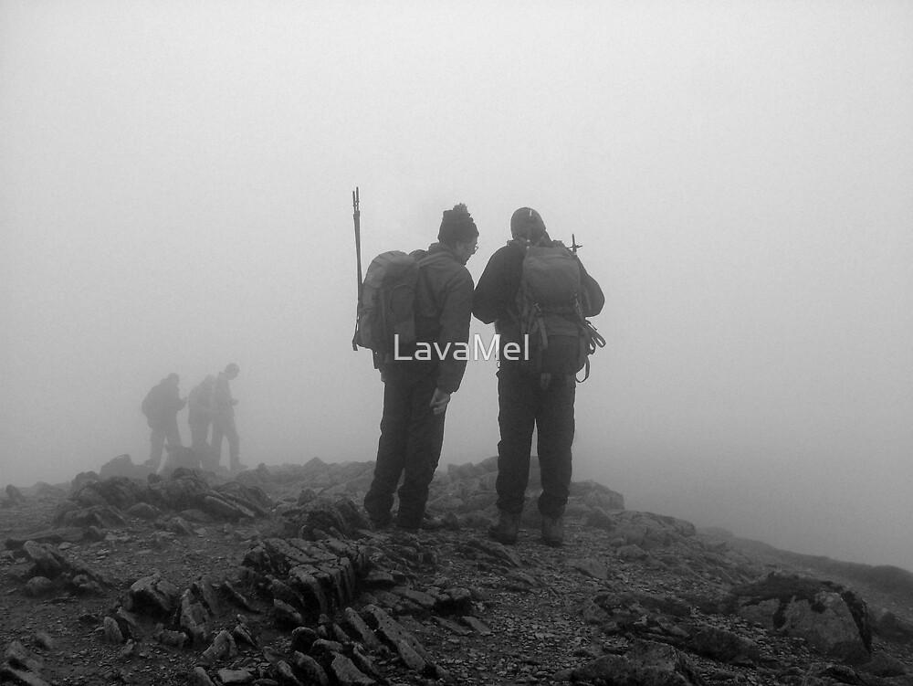 Helvellyn Walkers by LavaMel
