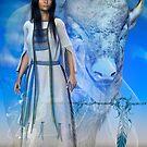 White Buffalo Woman 3 by shadowlea