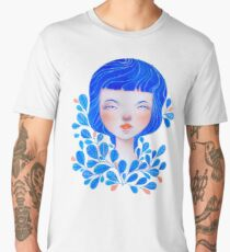 Blue Men's Premium T-Shirt