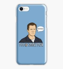 The janitor iPhone Case/Skin