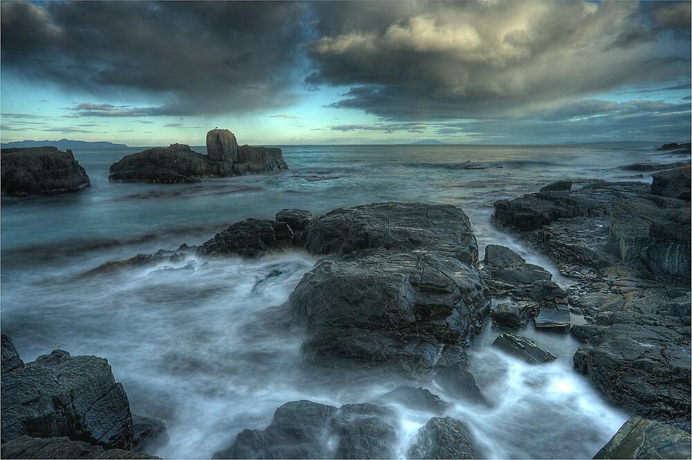 Haystack Rock by Mark Cowles