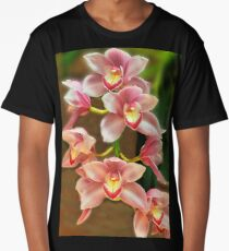 Pink Orchid Long T-Shirt