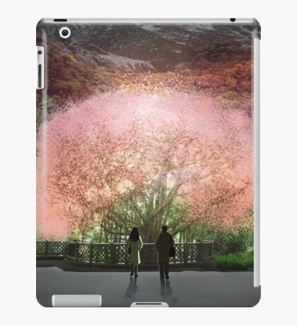 A year went by in a single day iPad Case/Skin