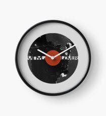 Vinyl Records Lover - Grunge Vinyl Record Clock