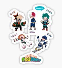 My Hero Academia Cartoony-Style Sticker