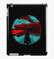 on the darkness side dragon iPad Case/Skin