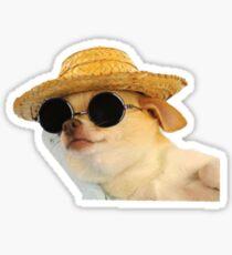 Chillaxed Chihuahua Sticker