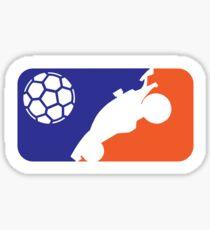 Major Rocket Car Soccer Sticker