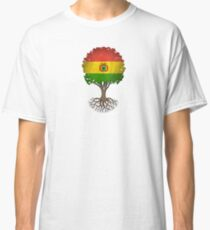 Tree of Life with Bolivian Flag Classic T-Shirt