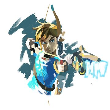 Link: Zelda Breath of the Wild by Superfizz