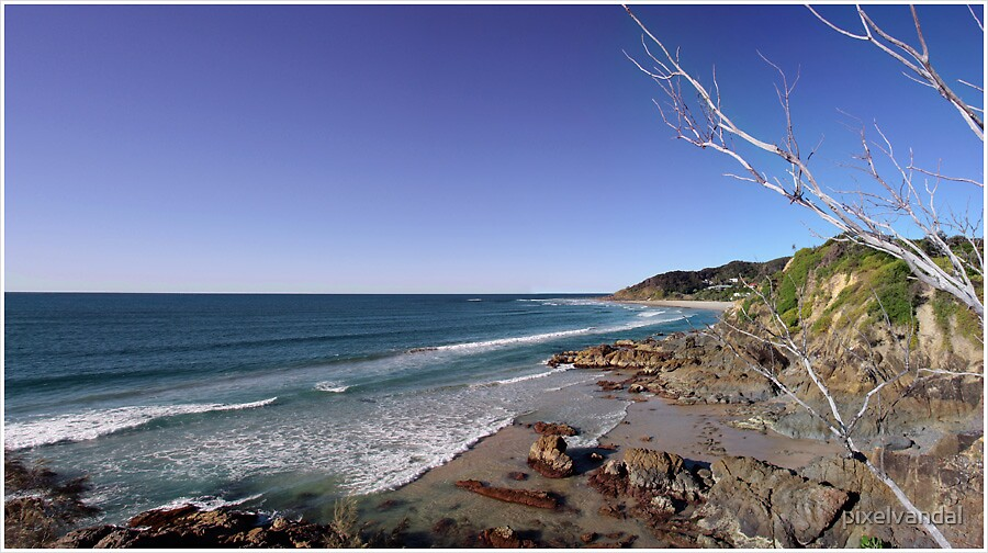 Byron Bay Australia by pixelvandal