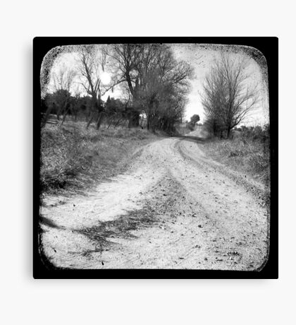 Dirty Back Road Canvas Print