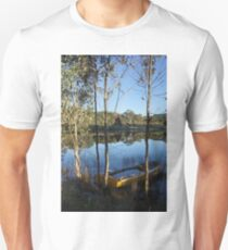 Reflections at the dam T-Shirt
