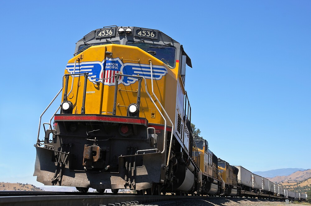 Union Pacific Perspective by gfydad