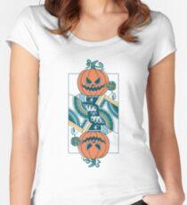 Pumpkin Player Women's Fitted Scoop T-Shirt