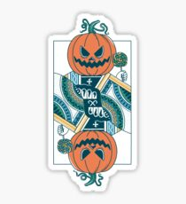 Pumpkin Player Sticker