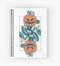 Pumpkin Player Spiral Notebook