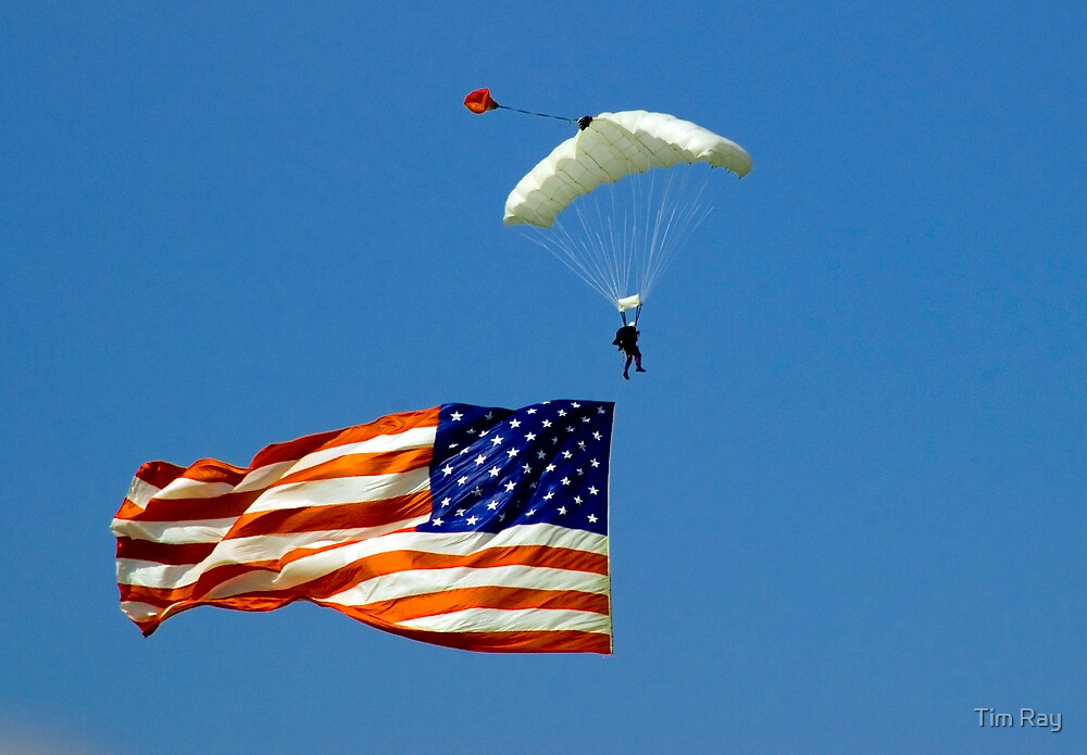 Flag Jump by Tim Ray