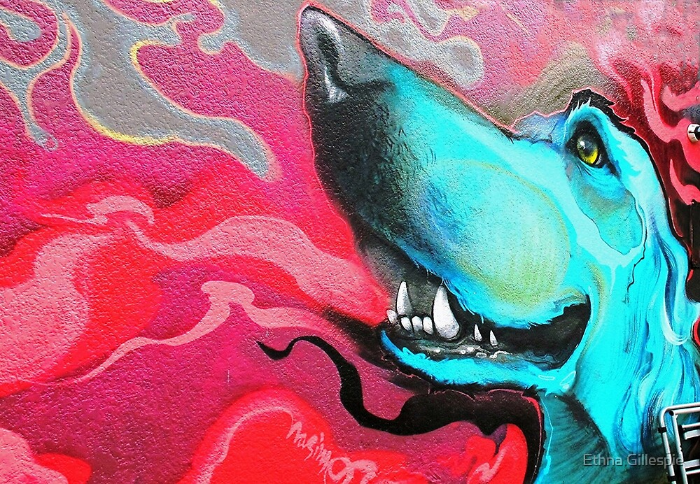Blue Dog  by Ethna Gillespie