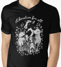 Liberation for All Men's V-Neck T-Shirt