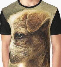 Irresistible Adorable Puppy Graphic T-Shirt